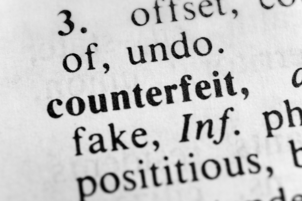 Stiffer laws needed against counterfeits