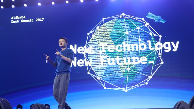 Jack Ma at Tech Summit