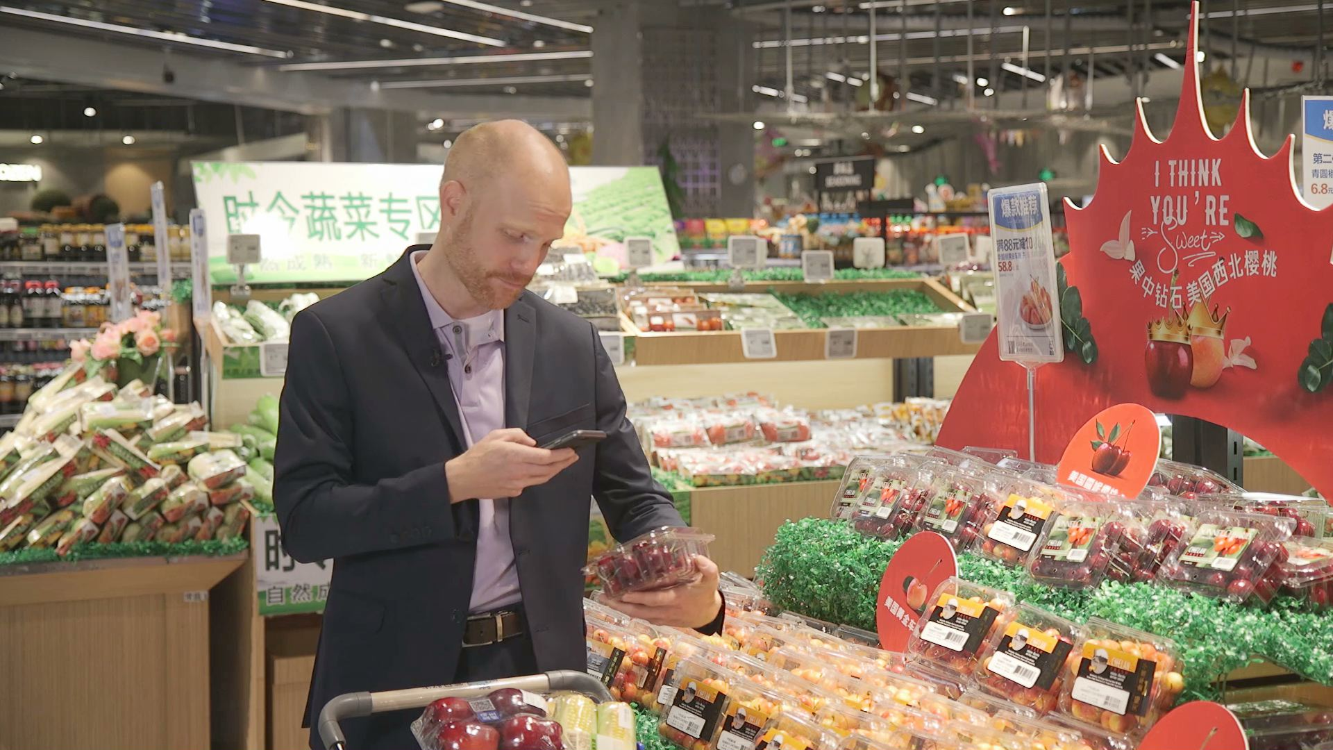 Take a Tour of a Freshippo Supermarket and Experience 'New