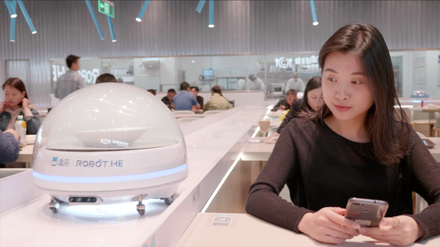 Robotic Restaurant