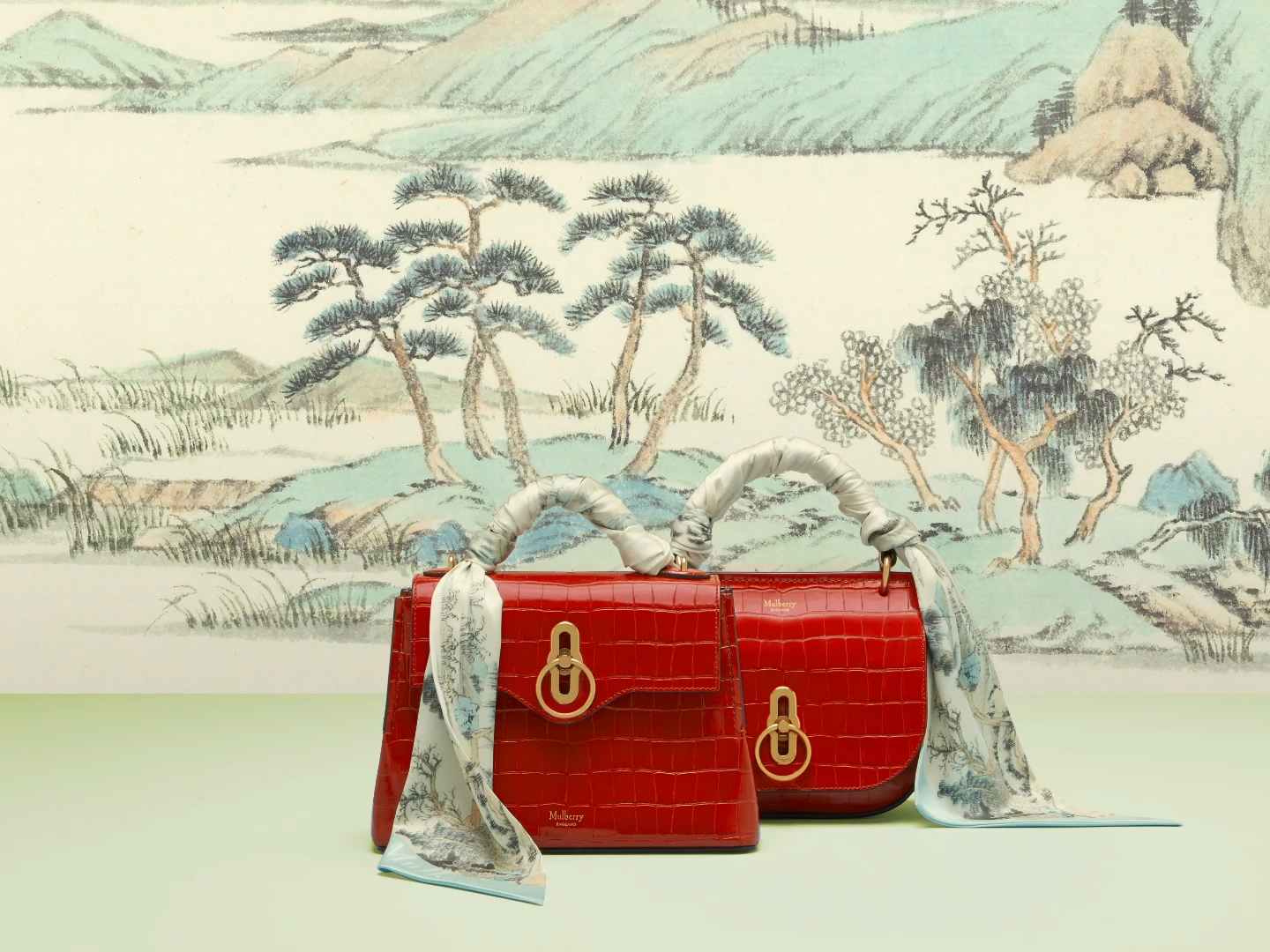 Mulberry 2019 Chinese New Year edition bags