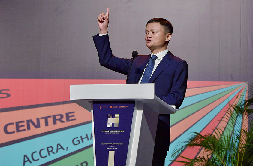 Image result for jack ma in africa