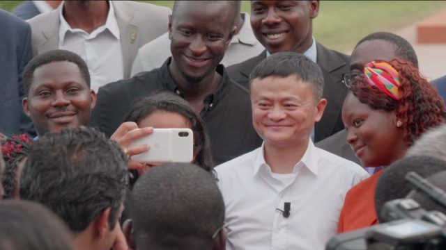 Jack Ma with African Entrepreneurs