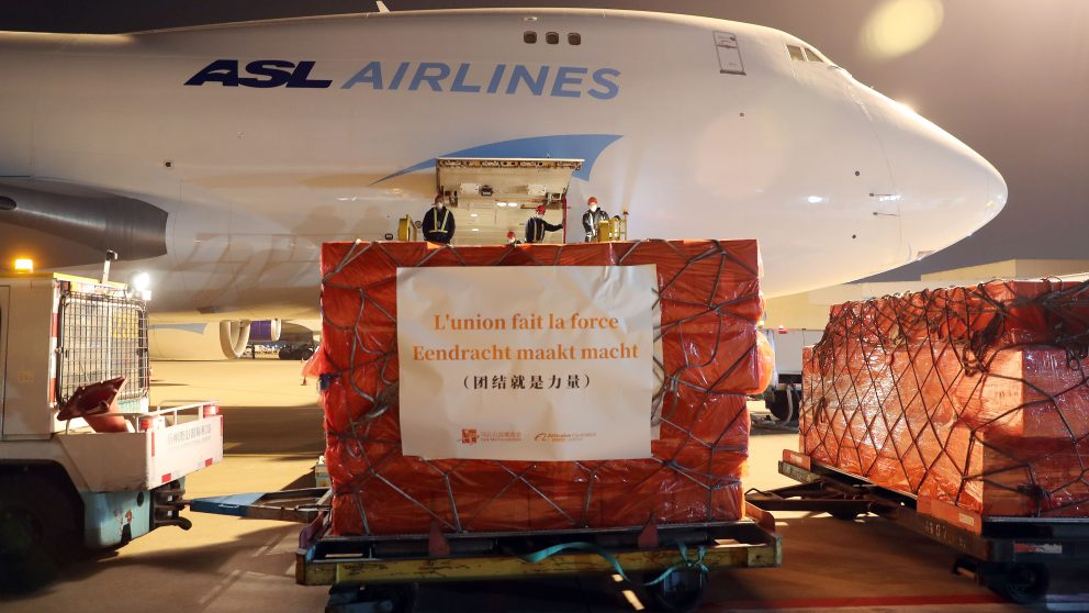 Jack Ma Foundation and Alibaba Foundation donate supplies to Italy