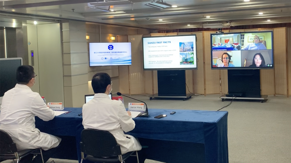 Medical Experts Around the World Tap into Online Platform for Knowledge Sharing