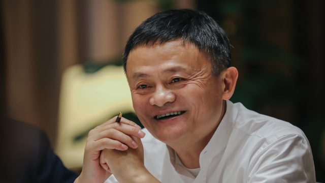 Alibaba Group founder Jack Ma
