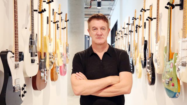 Fender CEO Andy Mooney (Photo Credit: Henry Diltz)